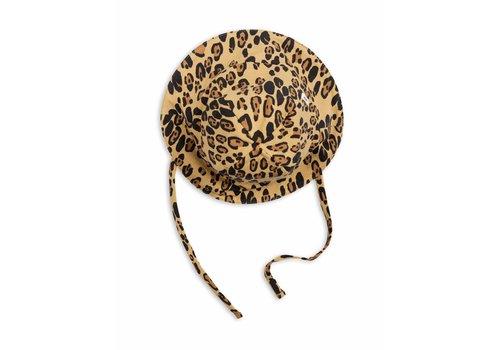 Mini Rodini Basic Leopard Sunhat Beige