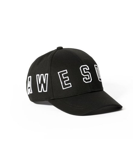 Someday Soon Cap Awesome Black