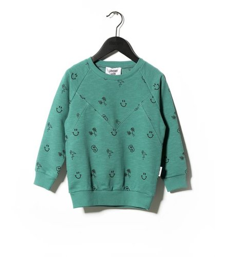 Someday Soon Crewneck Alto Aqua