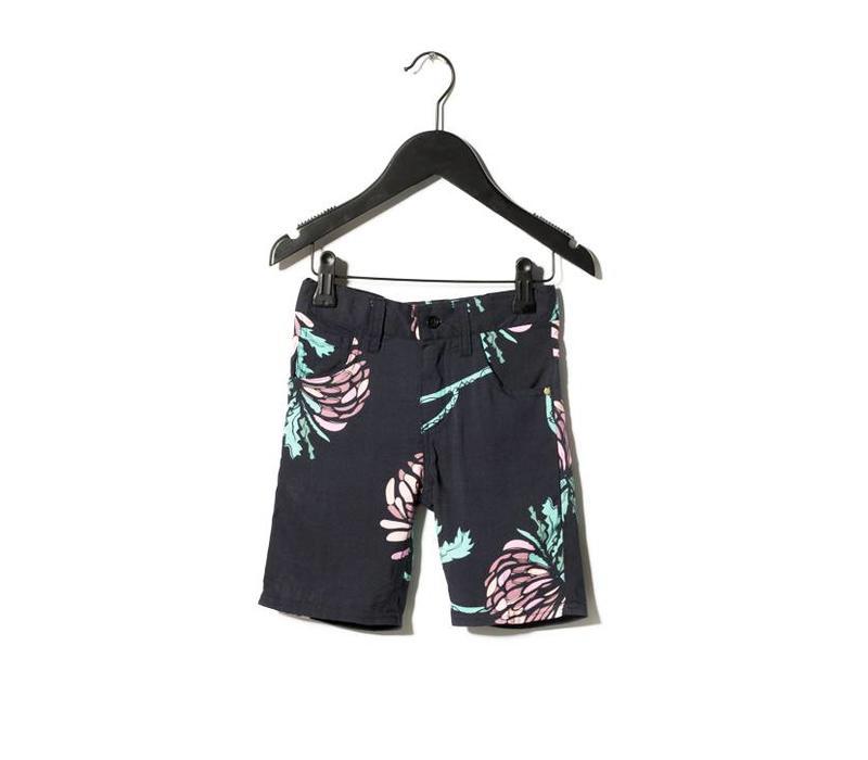 Shorts Miles Black AOP