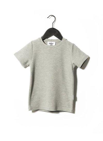Someday Soon T-shirt Jazzy Grey Melange