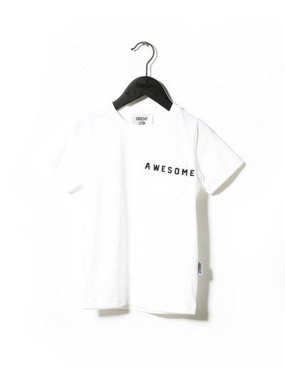 Someday Soon T-Shirt Davis White