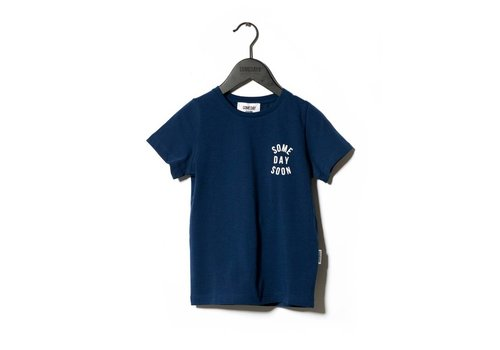 Sometime  Soon T-Shirt Revolution Blue