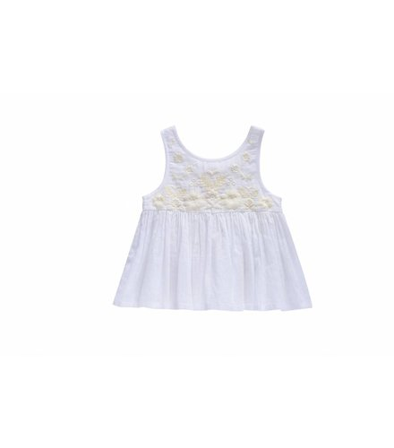 Louise Misha Top Maria, white
