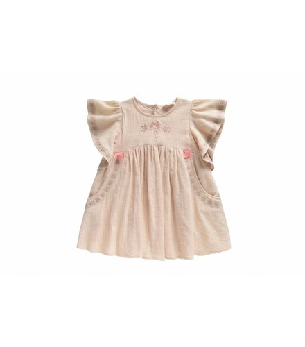 Louise Misha Dress Hindaka, blush