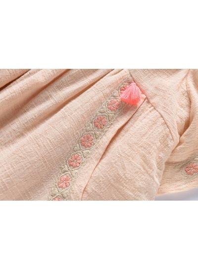 Louise Misha Dress Hindaka, blush