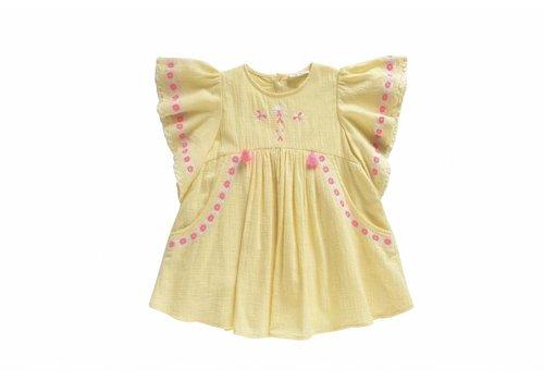 Louise Misha Dress Hindaka, lemon