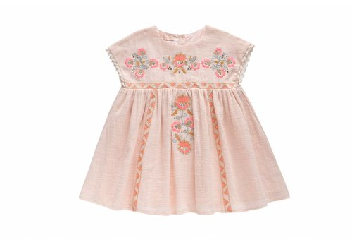 Louise Misha Dress Oleste, blush