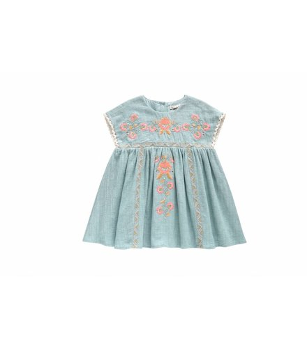 Louise Misha Dress Oleste, blue