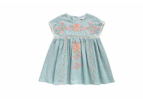 Louise Misha Dress Oleste, blue