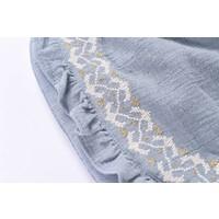 Shorts Taroudant, silver blue