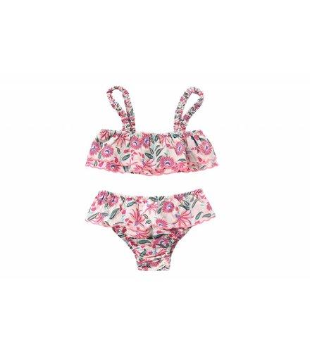 Louise Misha Bikini Bluna, white flower