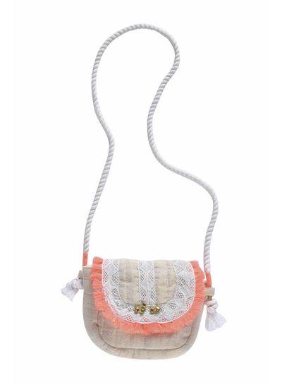 Louise Misha Bag Glitter, gold