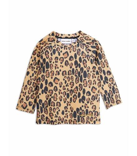 Mini Rodini Leopard Uv Top Beige