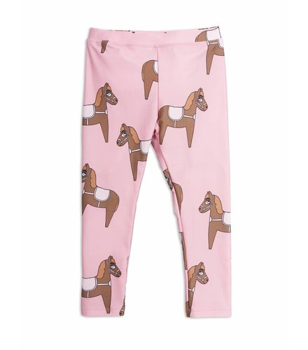 Mini Rodini Horse Fancy Leggings Pink