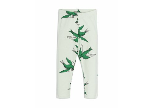 Mini Rodini Swallows Leggings Green