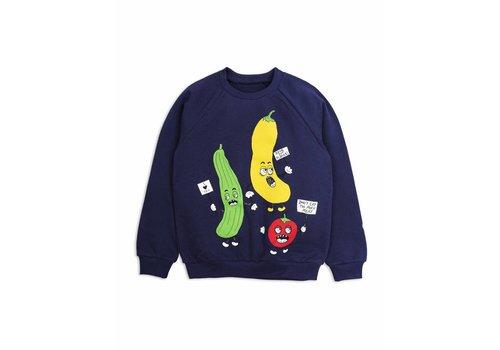 Mini Rodini Veggie Sp Sweatshirt Navy