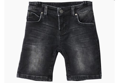 Someday Soon Shorts Carl Denim Washed Bla
