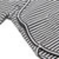 Bodysuit B/W Stripes