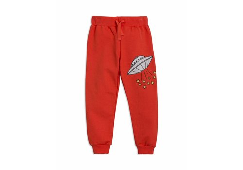 Mini Rodini UFO sweatpants red
