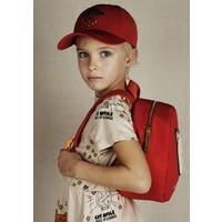 Cat backpack red