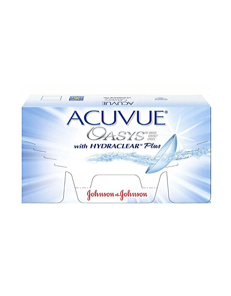 Johnson & Johnson Acuvue Oasys mit Hydraclear Plus 12er Pack