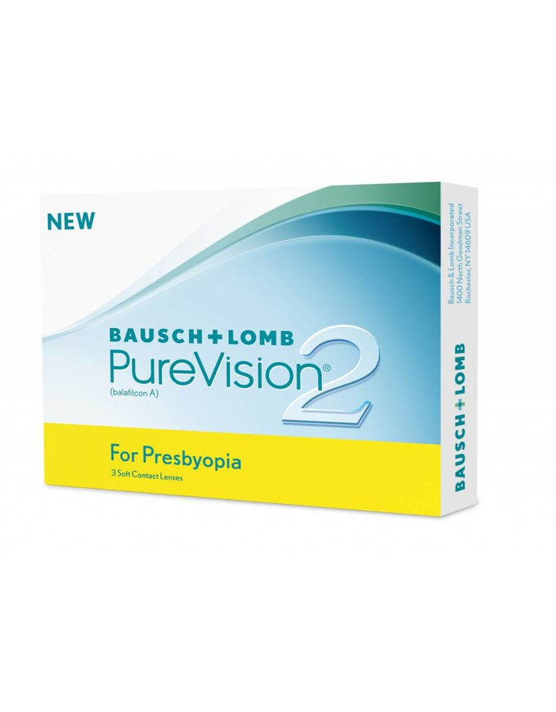 Bausch & Lomb PureVision 2 for Presbyopia 3er Pack