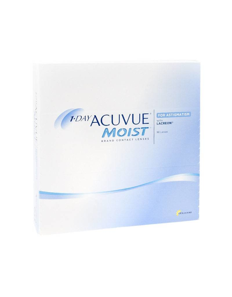 Johnson & Johnson 1-Day Acuvue Moist for Astigmatism 90er Pack