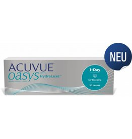 Johnson & Johnson Acuvue Oasys 1-Day with HydraLuxe 30er Pack