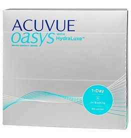 Johnson & Johnson Acuvue Oasys 1-Day with HydraLuxe 90er Pack