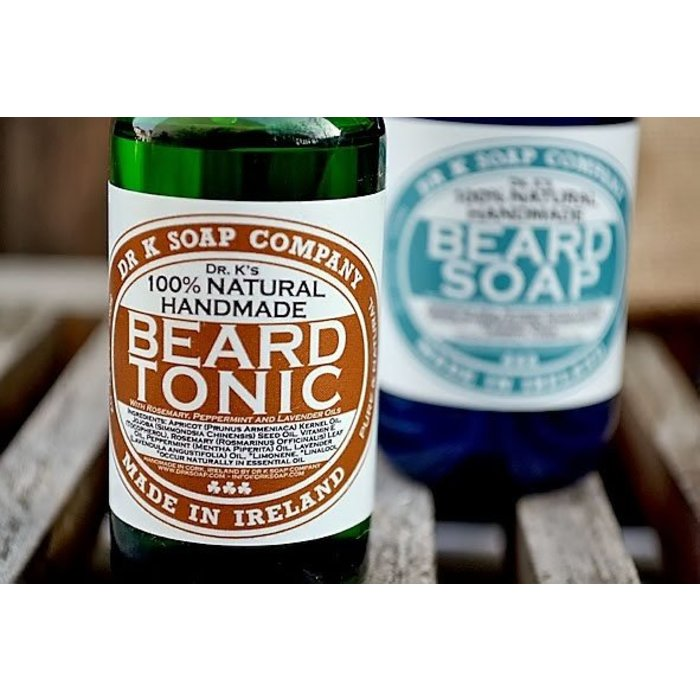 - The Beard Pack (Beard Wash & Beard Tonic), Promotion: Add Dr. K. Soap Shaving Oil €11,95!