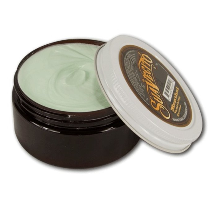 - Menthol Vanishing Cream (pre & aftershave)