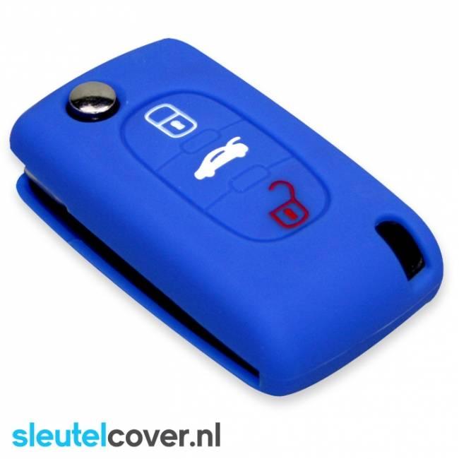 Citroën SleutelCover - Blauw