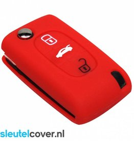 Citroën SleutelCover - Rood