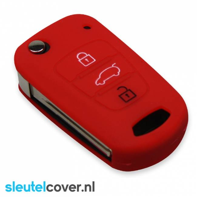 Hyundai SleutelCover - Rood