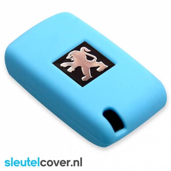 Peugeot SleutelCover - Licht blauw