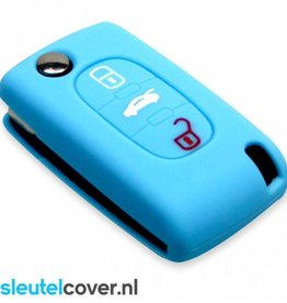 Peugeot SleutelCover - Licht blauw