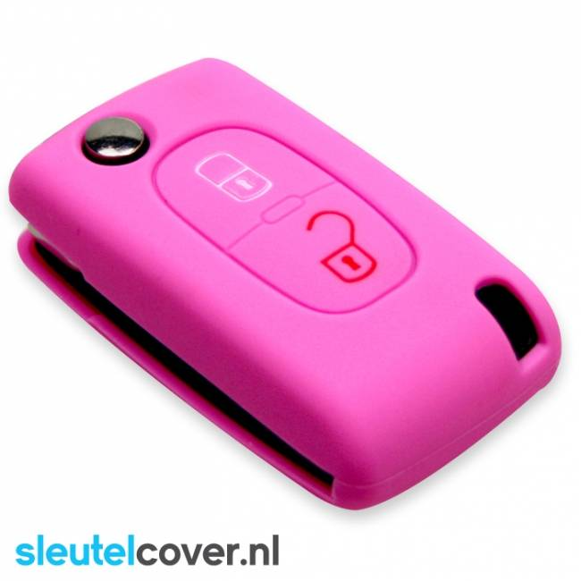 Peugeot SleutelCover - Roze