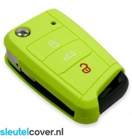 Volkswagen SleutelCover - Lime Groen