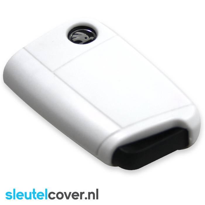 Skoda SleutelCover - Wit