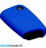 Skoda SleutelCover - Donker Blauw