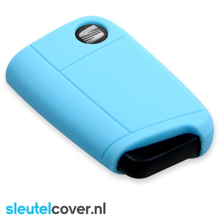 Seat SleutelCover - Licht Blauw