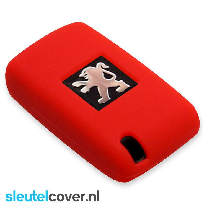 Peugeot SleutelCover - Rood