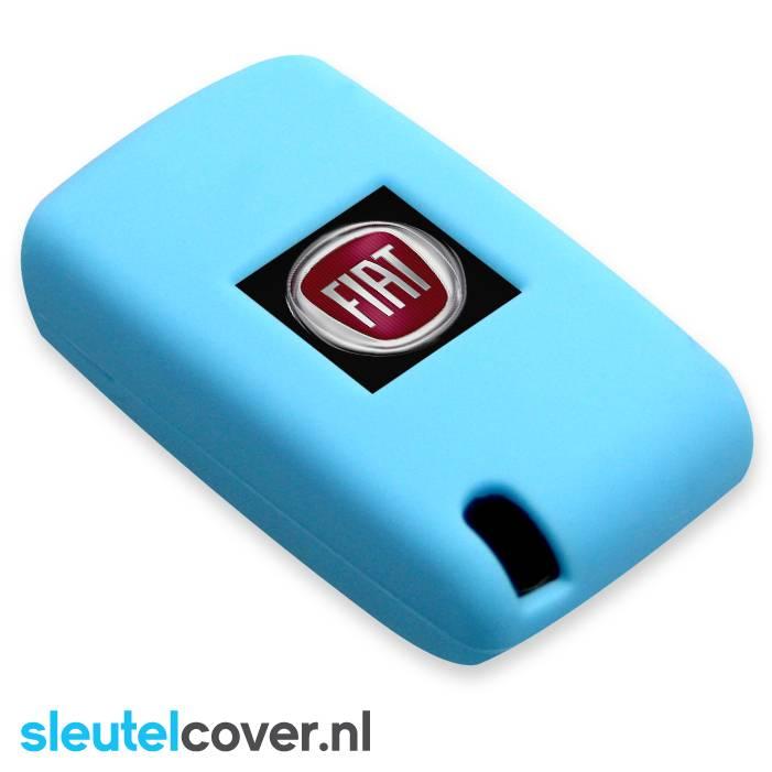 Fiat SleutelCover - Licht Blauw