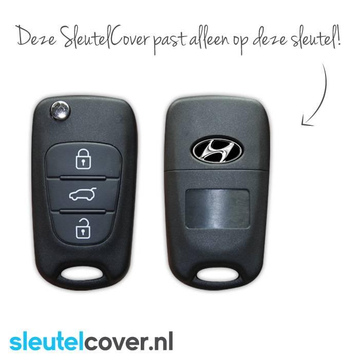 Hyundai SleutelCover - Licht blauw