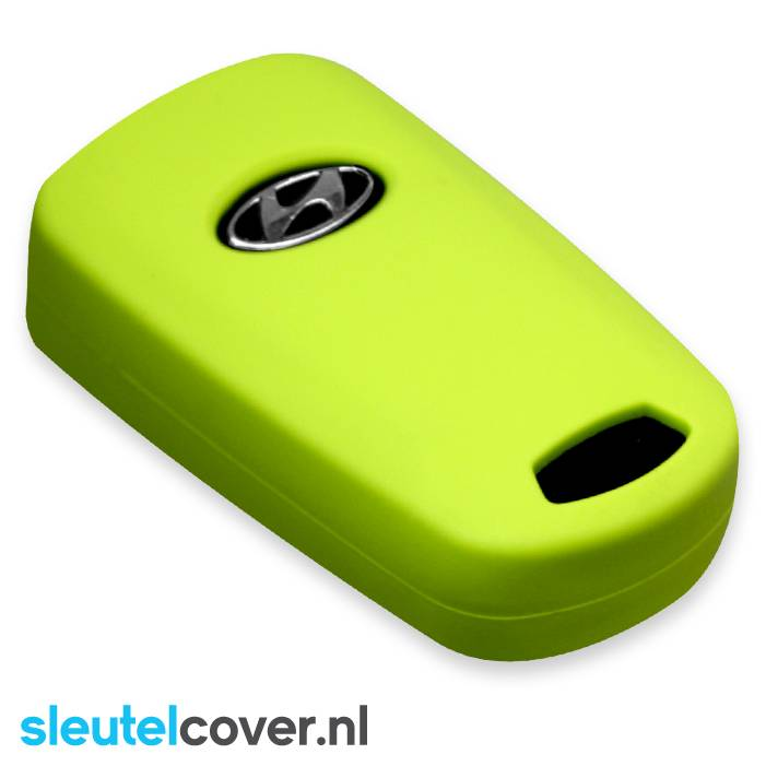 Hyundai SleutelCover - Lime Groen