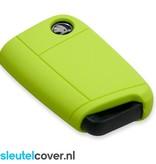Skoda SleutelCover - Lime Groen
