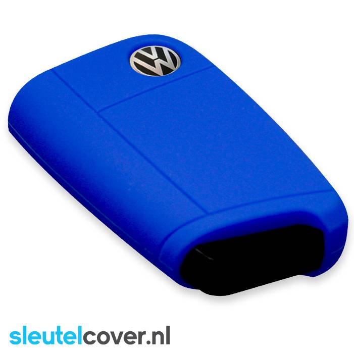 Volkswagen SleutelCover - Donker Blauw