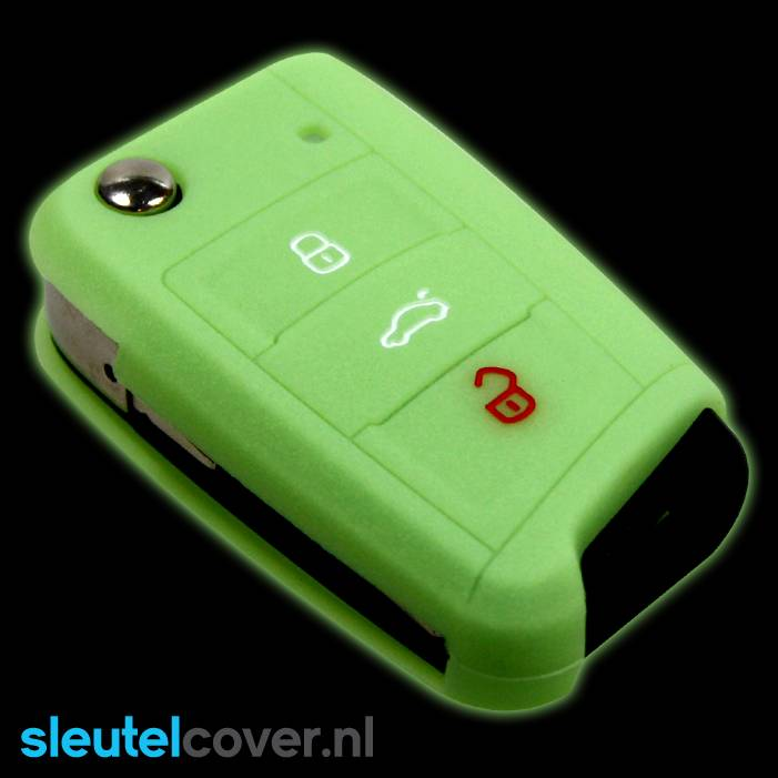 Volkswagen SleutelCover - Glow in the Dark