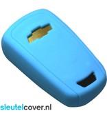 Chevrolet SleutelCover - Lichtblauw